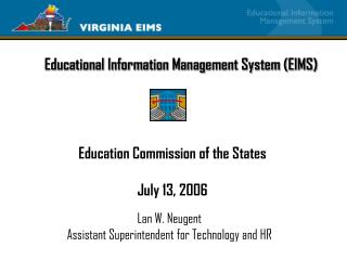 Educational Information Management System (EIMS)