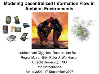 Modeling Decentralized Information Flow in Ambient Environments
