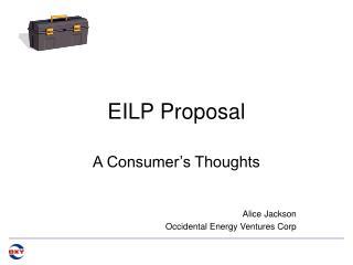 EILP Proposal