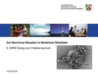 Zur Norovirus-Situation in Nordrhein-Westfalen