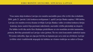 Eiro monetu izcelsme