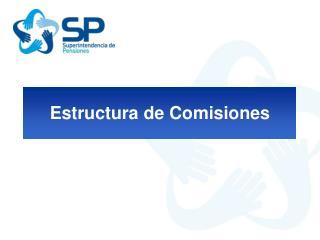 Estructura de Comisiones