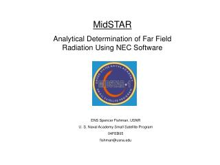MidSTAR Analytical Determination of Far Field Radiation Using NEC Software
