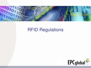 RFID Regulations