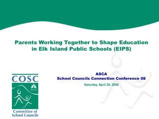 ASCA School Councils Connection Conference 08