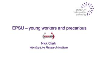 EPSU – young workers and precarious work