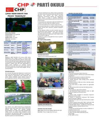 PROJE SONUÇ RAPORU Proje Danışmanı:  Derya ŞENTÜRK  Projenin Süresi:  7 gün