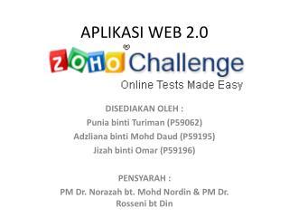 APLIKASI WEB 2.0
