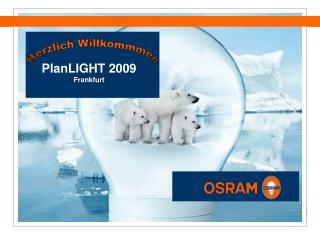 PlanLIGHT 2009 Frankfurt