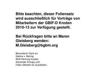 ReferentIn  Dipl.  Lök  Maren Gleisberg