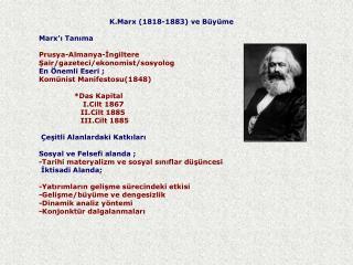 "Marksist felsefe a) Diyalektik Felsefe; TezAntitez   Sentez ""Değişmeyen Tek Şey Değişimdir"""