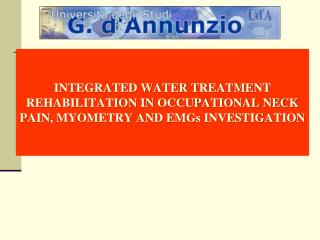 Dept. of Basic and Applied Medical Science,  University G. d'Annunzio, Chieti, Italy