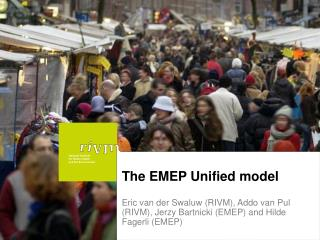 The EMEP Unified model