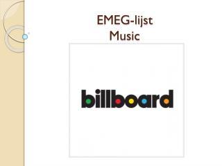 EMEG-lijst  Music
