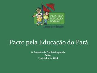 Pacto pela Educação do Pará