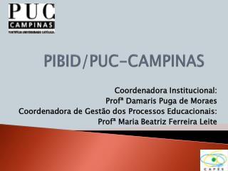 PIBID/PUC-CAMPINAS