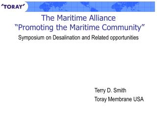 The Maritime Alliance   Promoting the Maritime Community