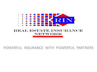 POWERFUL  INSURANCE  WITH  POWERFUL  PARTNERS