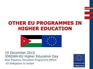 OTHER EU PROGRAMMES IN HIGHER EDUCATION