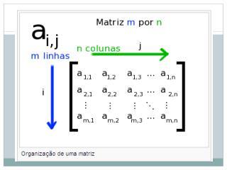 Uma matriz onde uma de suas dimensões é igual a 1 é geralmente chamada de  vetor .