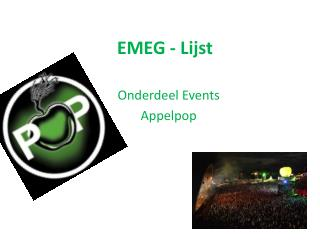 EMEG - Lijst