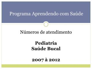 Programa Aprendendo com Saúde