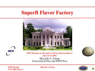 ITEP Meeting on the future of heavy flavour physics July 24-25,2006