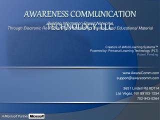 Awareness Communication Technology, LLC