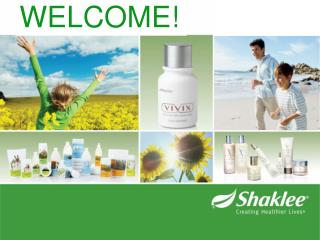 The Shaklee Business Opportunity