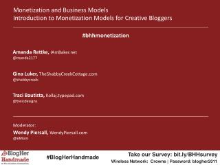 Monetization and Business Models Introduction to Monetization Models for Creative Bloggers