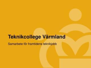 Teknikcollege Värmland