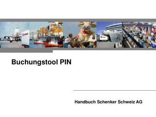 Handbuch Schenker Schweiz AG