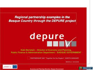 PARTNERSHIP DAY �Together for the Region�, NORTH HUNGARY