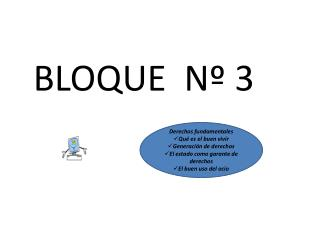 BLOQUE  Nº 3