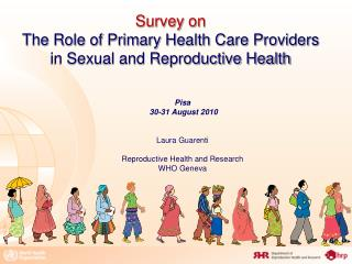 Survey on  The Role of Primary Health Care Providers in Sexual and Reproductive Health