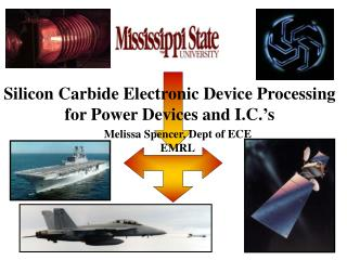 Silicon Carbide Electronic Device Processing for Power Devices and I.C.'s