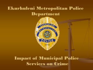 Ekurhuleni Metropolitan Police Department