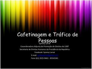 Cafetinagem e Tráfico de Pessoas