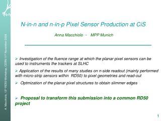 N-in-n and n-in-p Pixel Sensor Production at CiS