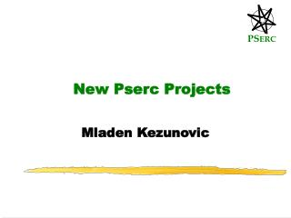 New Pserc Projects
