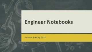 Engineer Notebooks