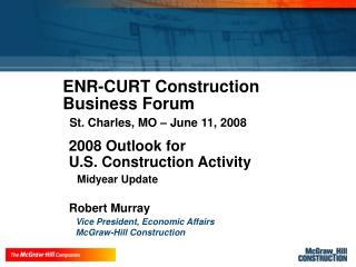 Robert Murray presentation