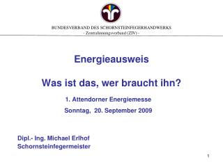 Energieausweis Was ist das, wer braucht ihn?