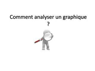 Comment analyser un graphique ?