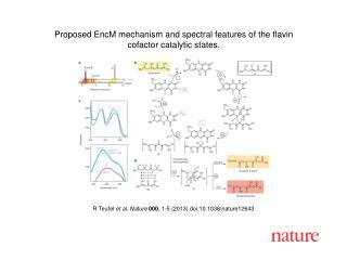 R Teufel  et al.  Nature  000 ,  1 - 5  (2013)  doi:10.1038/nature12643
