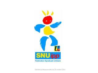 Elections du 20 octobre 2011