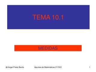 TEMA 10.1