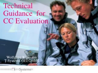 Technical Guidance  for CC Evaluation
