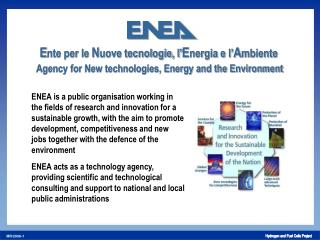 ENEA 's Research Centres: 11