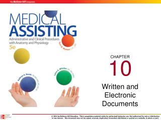 Written and Electronic Documents